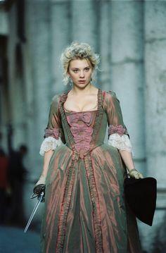 Victoria - Natalie Dormer in Casanova, set in 1753 (2005).