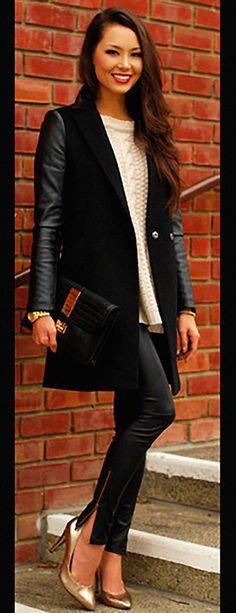 Como criar looks lindos com legging neste inverno – Lalá Noleto