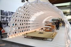 Kengo Kuma unveils cocoon-like paper kitchen pavilion at Milan Design Week's Fuorisalone 2015 | Inhabitat - Green Design, Innovation, Architecture, Green Building