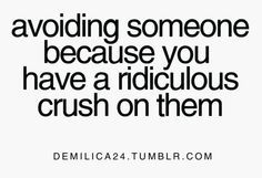 quotes about having a crush on someone - Google Search