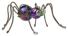 Garden Spiders~  Spiders have long been believed to be a sign of good luck. Place small spiders made of wire, plastic, metal and/or glass in your flower garden, hovering atop a stake or on the ground below the leaves