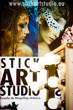 Escuela de maquillaje artístico y profesional.  Barcelona, España
