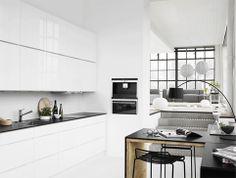 Ruud Visser Architects - Modern Home Design Beautiful Interior Design, Interior Design Kitchen, Modern Interior Design, Kitchen Designs, Interior Styling, Kitchen Ideas, Kitchen Dinning Room, New Kitchen, Dining Area