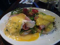 my yummy egg benedict~~~