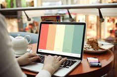 """Coolors:  helps you choose your next projects color pallet  """"Choose your favorite colors and get thousands of cool combinations."""""""