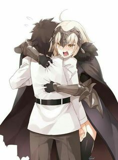 Jeanne Alter and Gudao Anime Meme, Fate Jeanne Alter, Fate Servants, Fate Anime Series, Fate Zero, Type Moon, Fate Stay Night, Anime Art Girl, Anime Girls
