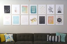 Diy photo mounting for a cheap easy gallery wall home ideas diy photo mounting for a cheap easy gallery wall solutioingenieria Gallery