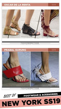 #nyfw #2018 #ss19 #bestof #womens #footwear #shoes #handbags #trends #fashion #accessories #fashiondirections #oscardelarenta #prabalgurung Ugly Shoes, Hot Shoes, Nyfw 2018, Shoe Pattern, Prabal Gurung, Fashion Shoes, Fashion Accessories, Ulla Johnson, Pumps