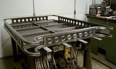 Roof racks (DIY), lets see them! - Page 2 - : and Off-Road Forum Truck Mods, 4x4 Trucks, Cool Trucks, Jeep Cherokee Xj, Jeep Xj, Truck Accesories, Car Accessories, Truck Roof Rack, Roof Basket