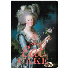 Hayneedle Oliver Gal Eat Cake Canvas Wall Art