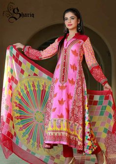 Shariq Textiles Crinkle Lawn Collection 2014 contains most stylish women wear dresses for sprind summer occasion. These dresses are perfect for…More at http://www.newfashioncorner.com/shariq-textile-spring-summer-collection-2014/