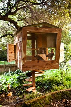 Amazing chicken coop via Modern Farmer.