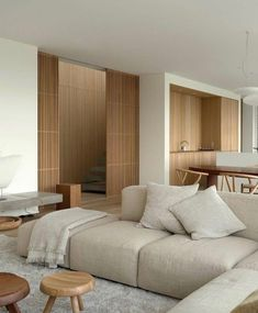 Living Room Interior, Home Living Room, Living Room Designs, Living Spaces, Interior Design Inspiration, Home Interior Design, Interior Architecture, Dream Home Design, Minimalist Home