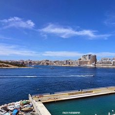 #View from Marsamxett #Valletta - Thanks to @gordonh64 for the #photo  Tag your #photos with #MaltaPhotography to get a chance to be featured on @maltaphotography - http://ift.tt/1fpoK0v