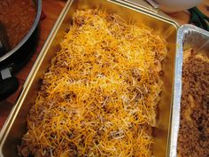 Lawnmower taco casserole