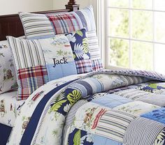 Key West Quilted Bedding #pbkids