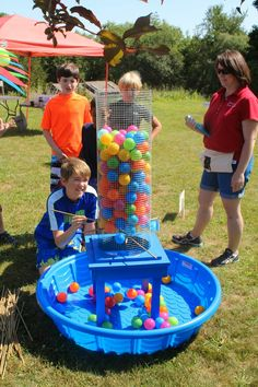 Notable Music Studio - Crazy Carnival Music Camp! Made a Kerplunk game that was a big hit!