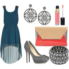 """""""Tempting Teal"""" by refinedandpolished on Polyvore"""