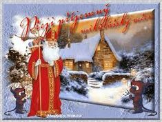 Výsledek obrázku pro přání k mikuláši Gingerbread, Christmas Ornaments, Cool Stuff, Holiday Decor, Birthday, Birthdays, Ginger Beard, Christmas Jewelry, Christmas Decorations