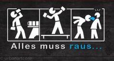 All is going out... - #Aufkleber, #Spruch, #Statement, #Sticker