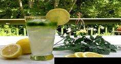 Esto es loque ocurre si consumes agua de limon con perejil por 5 dias con el estomago vacio