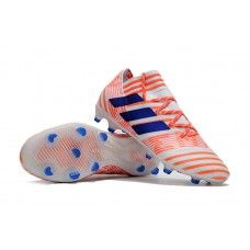 brand new d87f8 af2a1 Fashion Adidas Nemeziz 17.1 FG Soccer Cleats - Orange Blue White