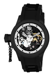 Invicta Watches Men's Russian Diver Black Watch