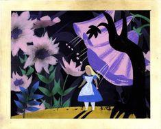 92507: Mary Blair Alice in Wonderland Concept Art 1951 : Lot 92507