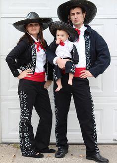 DIY 3 Amigos Costumes for under $25