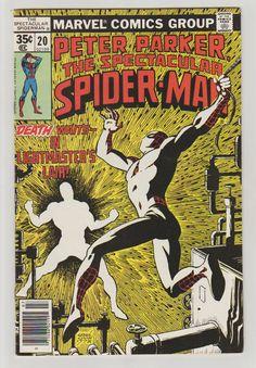 Spectacular Spider-Man Vol 1 20 Comic Book.  by RubbersuitStudios #spiderman #comicbooks