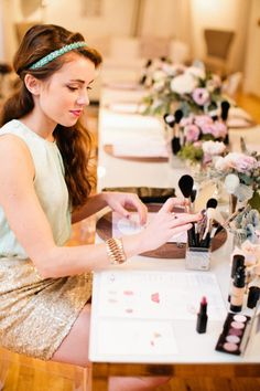 Makeup lessons: http://www.stylemepretty.com/living/2015/03/02/17-fun-party-themes-for-any-ocassion/