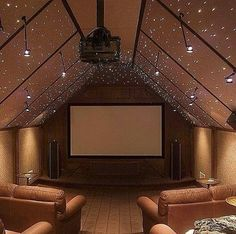 Really cool indoor cinema tell me what u guys think of it??
