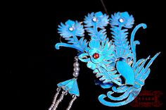 diancui- chinese traditional kingfisher handcrafts