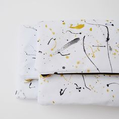2 Splatter Clutches / Foldover Clutch / Handpainted Clutch / Canvas clutch / Clutch / Gold Clutch / Silver Clutch / Wedding Clutch by BolderBags on Etsy https://www.etsy.com/listing/219984235/2-splatter-clutches-foldover-clutch