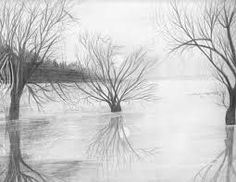 Bildergebnis für black and white sketches of nature