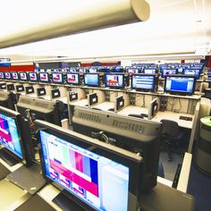 Behind the scenes in the US Open media control room, where IBM analytics help the TV broadcasters track all the action on the tennis courts.