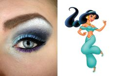 Jasmine (from Aladdin) Inspired Eye Make Up