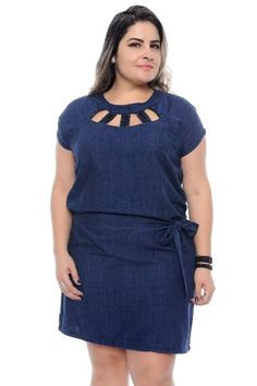 Plus Size Jeans, Vestidos Plus Size, Looks Plus Size, Ideias Fashion, Dresses For Work, Maxi Styles, Plus Size Jumpsuit, Dress Making, Big Sizes