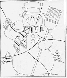 Colouring Pages, Coloring Sheets, Coloring Books, Puzzles, File Folder Activities, Math Activities, Christmas Worksheets, Winter Project, Snowman Crafts