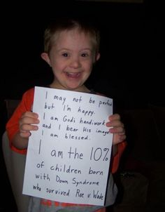 Future: I will become a Special Education teacher for kids like this <3