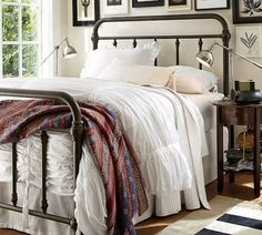 pottery barn coleman bed