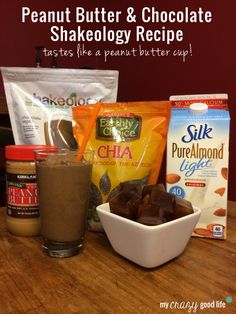 Peanut Butter Chocolate Shakeology Recipe - My Crazy Good Life