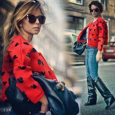 #fashion #ootd #style #mickeymouse #fashionblogger #longhair#beautiful http://hypnotizingfashion.blogspot.com