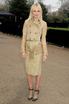 Kate Bosworth de Burberry Prorsum.
