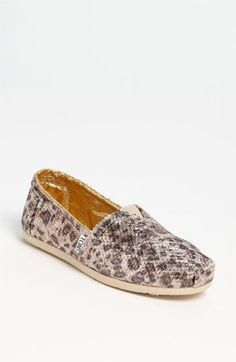 "TOMS+ 'Classic Gold' Slip-On (Women) available at #Nordstrom TOO BAD THEY""RE $100!!!!!!"