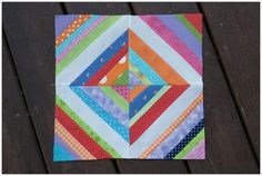 Fun, patchy quilt block