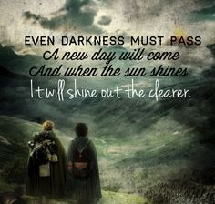 Lord of the Rings quote by Samwise Gamgee, The Two Towers