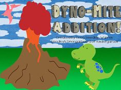 $  Dino Mite Addition!  Word problems, differentiated addition activities!