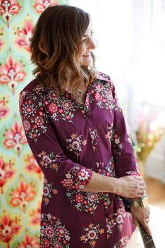 Amy Butler's Love Fabrics with The Liverpool Tunic