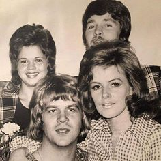 Anni-Frid Lyngstad ABBA with Lasse Berghagen and others